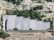 Mur de soutènement en béton - Woodland C1258