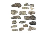 Rochers gris miniatures - Woodland C1140