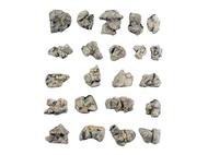 22 Rochers gris  prêts à l'emploi - Woodland Scenics C1142