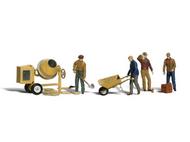Ouvriers miniatures du bâtiments 1:43 - Woodland A2753