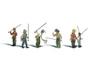 Pêcheurs miniatures 1:87 - Woodland A1910