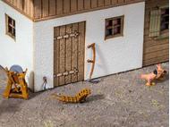 Accessoires miniatures :  Set de fenaison 3D - 1/87 HO - Noch 13723