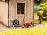 Accessoires miniatures : Set de récolte de betteraves 3D - 1/87 HO - Noch 13724