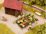 Légumes miniatures : 8 plants de citrouille 3 cm x 6 cm - 1/87 HO - Noch 13219