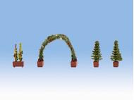 Vagétations miniatures : Arcade de roses - 1/87 HO - Noch 14022