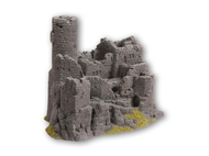 Décor miniature : Château en ruine - 1:87 H0 - Noch 58609