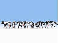 Vachesminiatures noires et blanches 1:87 - Noch 15725