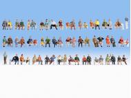 Gens assis miniatures : 1:160, N - Noch 38402