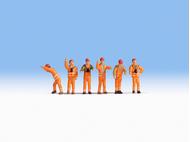 Equipe de manoeuvre miniature 1:160, N - Noch 36275
