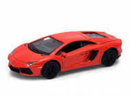 Voiture miniature - Lamborgini Aventador LP 700-4 orange - 1/87 WELLY 731146
