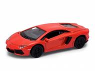 Voiture miniature - Lamborgini Aventador LP 700-4 orange - 1/87 WELLY 731146