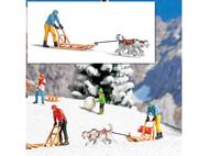 Chiens de traîneaux miniatures - Busch 07817
