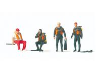 Preiser 10693 - Personnages miniatures : Plongeurs 1:87