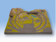 """Noch 87010 - Plateau """"Serfaus"""" 1:220 - Z, 40,5 x 53,5 cm, 12 cm de hauteur"""