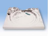 """Noch 87015 - Plateau """"St. Anton"""" 1:220 - Z, 40,5 x 53,5 cm, 12 cm de hauteur"""