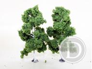 2 bouleaux miniatures 16 cm 1:87, HO -JORDAN 5E