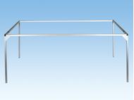 Noch 62230 - Cadre Aluminium 100 x 40 cm