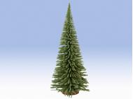 Végétation miniature : Sapin Déco avec socle en bois, 35 cm - 1:87 - Noch 4019826