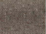 Décors miniatures : Mur de pierre de carrière - 1:87 HO - Noch 60371