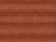 """Décor miniature : Feuille de carton 3D """"Tuiles"""", rouge - N 1:160 - Noch 56964 - diorama.fr"""