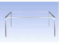 Noch 62369 - Cadre aluminium - 69 x 100 cm
