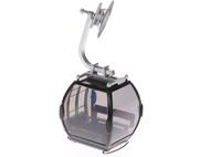 Télécabine oméga noire pour téléphérique miniature - JC 84003