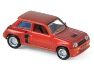 Voiture miniature : Renault R5 Turbo rouge métallisée 1980 - 1:87 HO - Norev 510524