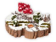 """Décors miniatures : Kit de diorama """"Rêve hivernal"""" - Noch 10003"""