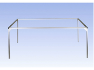 Noch 62425 - Support aluminium plateau Traunstein 125 x 95 cm