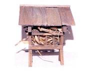 Accessoires de crèche : mangeoire miniature