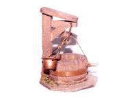 Accessoires de crèche : petit Puit miniature