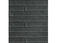 Plaque de toit en tuiles noires 1:87