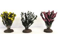 3 buissons fleuris 6 cm