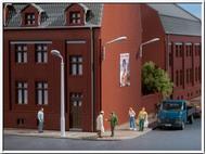 4 lampadaires miniatures - Auhagen 41621