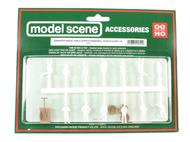 Miniatures de marcheurs, scouts et travailleurs à peindre - HO 1:87 - Model scene