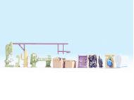 Noch 14850 - Accessoires de garage auto miniatures 1:87