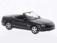 Voiture miniature - Mercedes SL500 cabriolet noir - 1/87 WELLY 73102SW