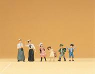 Femmes et enfants époque 1900 - 1:87
