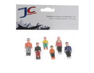 6 figurines pour télésièges