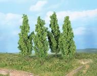 Végétation miniature : 4 Peupliers 13 cm - Heki 19110