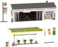 Maquette Station service - Faller 130345