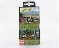 Busch 1230 - 4 Bacs à plantes 1:87 - HO