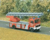Camion pompier miniature avec feux cligotants 1:87 - Busch 5608 - 1:87