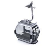 Télécabine oméga IV 10 grise pour téléphérique miniature - JC 84000