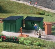Maquette de Cabane de jardin miniature - 1:87 HO - Auhagen 99030