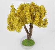 Mimosas miniatures avec tron en bois