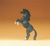 Preiser 47020 - Cheval Pure sang miniature qui se cabre 1:25