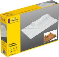 Support de maquettes : Socle de diorama campagne - 1/35 - Heller 81254