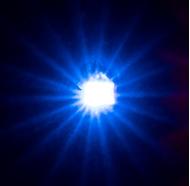 Outils pour diorama : 5 LED autoclignotantes, bleues - Faller 163742