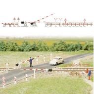 Busch 6020 - Kit de passage à niveau pour voie ferrée 1:87 - HO